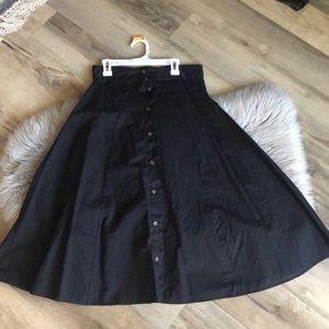 Universal thread midi skirt